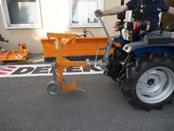 charrue réversible drp 25 pour micro tracteur