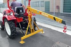 grue hydraulique pour tracteur agricole modèle el 500