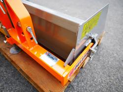 godet basculement manuel pour micro tracteurs kubota iseki etc mod prm 100 l
