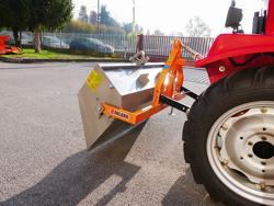 godet de chargement pour tracteur kubota solis etc modèle prm 120 l