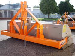 godet basculant pour tracteur série lourde mod prm 180 h