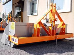 godet benne de 200cm lourd pour tracteur type same mod prm 200 h