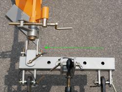 charrue monosoc dp 16 pour micro tracteur kubota iseki etc