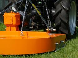 gyrobroyeur pour tracteur buggy 100 avec boitier réversible
