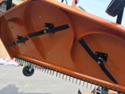 плоская роторная косилка с 3 я ножами для трактора 1 8м резки эффект мульчирования мод dm 180