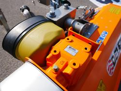 broyeur d accotement polyvalent à marteaux modèle volpe 140