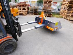godet 120cm pour chariot élévateur type bobcat lince etc modèle prm 120 lm