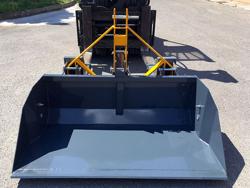 godet de chargement pour chariot élévateur série lourde modèle prm 180 hm