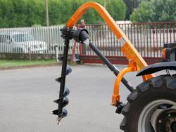 tarrière pour attelage 3 points tracteur modèle l 50