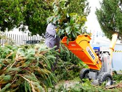 broyeur de branches thermique dk 800 yamaha pour sarments