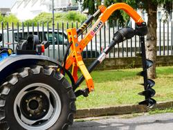 tarrière hydraulique pour attelage 3 points tracteur modèle l 50h