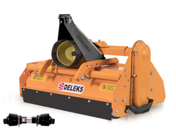 rotovator mélangeur de litière pour tracteur pavo 140