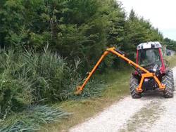 taille haie hydraulique porté pour tracteur modèle falco 180