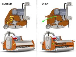 broyeur à marteaux leopard 140 sp pour tracteurs 30 70cv
