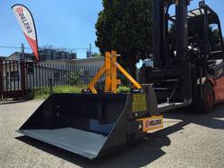 godet bennette 140cm renforcée pour chariot élévateur modèle pri 140 hm
