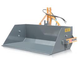 godet bennette hydraulique pour micro tracteur kubota iseki pri 120 l