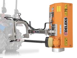 broyeur d accotement léger volpe 100 pour micro tracteur