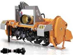 rotovator pour tracteurs déport hydraulique dfh idr 150