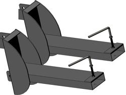 attelage chariot élévateur 140 160 180 200h