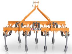 cultivateur 7 dents pour tracteur largeur 169cm pour préparation du sol mod de 165 7