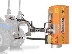 broyeur d accotement série légère à marteaux pour tracteur mod volpe 165