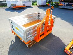 bennette de transport basculante pour tracteur mod t 1400