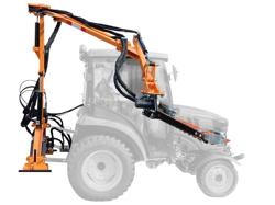 taille haie hydraulique pour tracteur à partir de 20cv mod falco 180 h