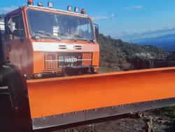 lame à neige lourde frontale pour tracteurs ssh 04 2 6 a