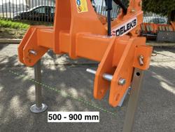 décompacteur 1 dent pour tracteur agricole modèle dr 100