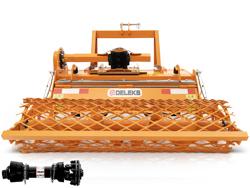 enfouisseur de pierres dfu 160 pour tracteur carraro foton etc