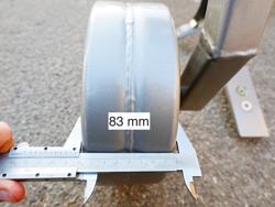 decompacteur sous soleuse a 3 dents avec rouleau brise mottes pour tracteur dc300