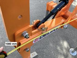 décompacteur 1 dent pour tracteur agricole modèle dr 100h