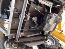 brouette a moteur b&s demarrage electrique md 400 bsl