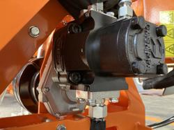 epareuse hydraulique pour tracteur avec broyeur ou taille haie mod airone 80