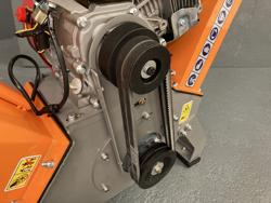 broyeur de branches thermique dk 500 bs à tambour moteur 15cv