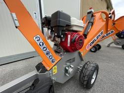 broyeur de branches thermique dk 500 honda à tambour moteur 15cv