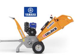 broyeur de branches thermique dk 500 yam à tambour moteur 15cv