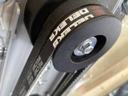 broyeur de branches thermique dk 500 lf à tambour moteur 15cv
