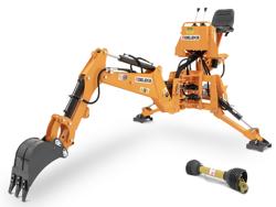pelle rétro universelle pour tracteur drs 2000