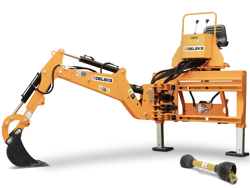 pelle rétro universelle pour tracteur drs 2000t