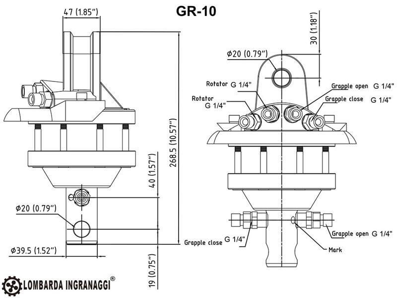 grappin-à-bois-pour-mini-pelles-et-grues-forestières-modèle-dk-10-gr-10
