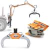 grappins forestiers pour le bois rotateurs hydrauliques et machines pour la manutention du bois